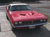 1971 Barracuda Convertible